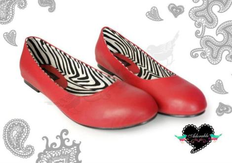 Casey Zebra Red