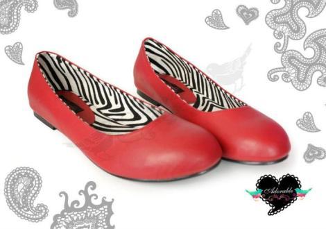 Casey Zebra Red